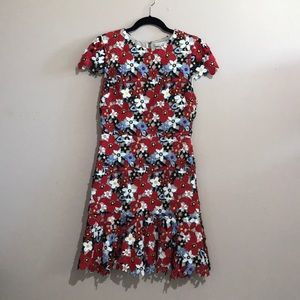 Alice and Olivia Floral Dress